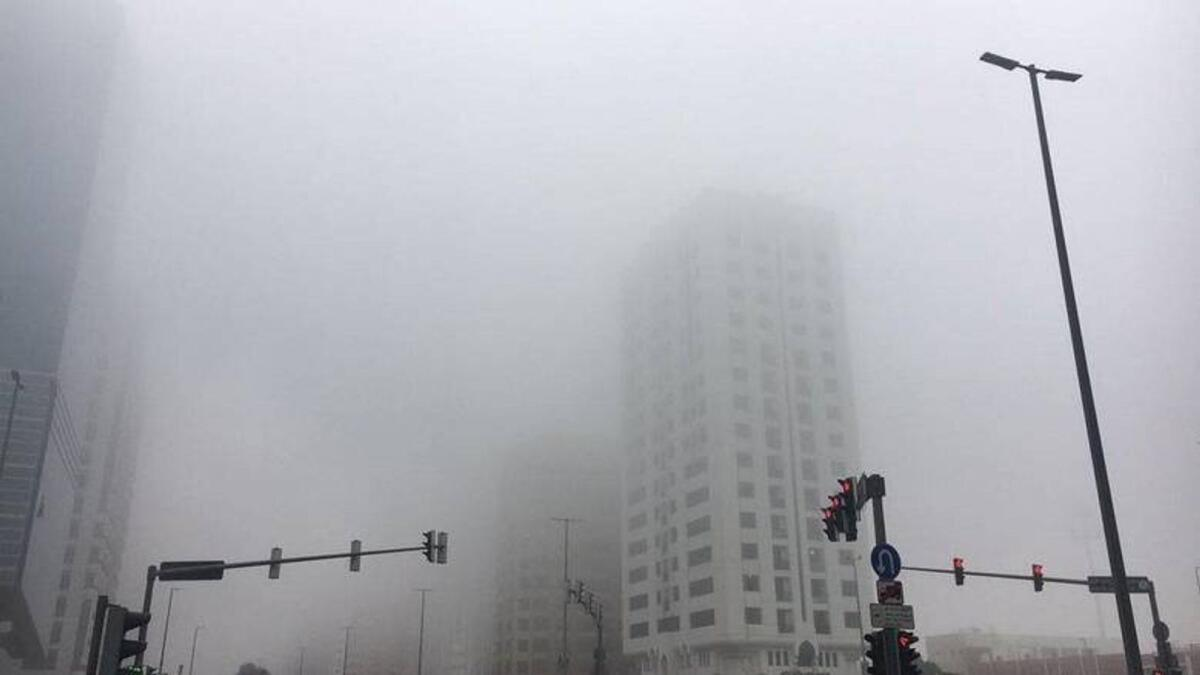 UAE: Fog alert issued, visibility to be affected
