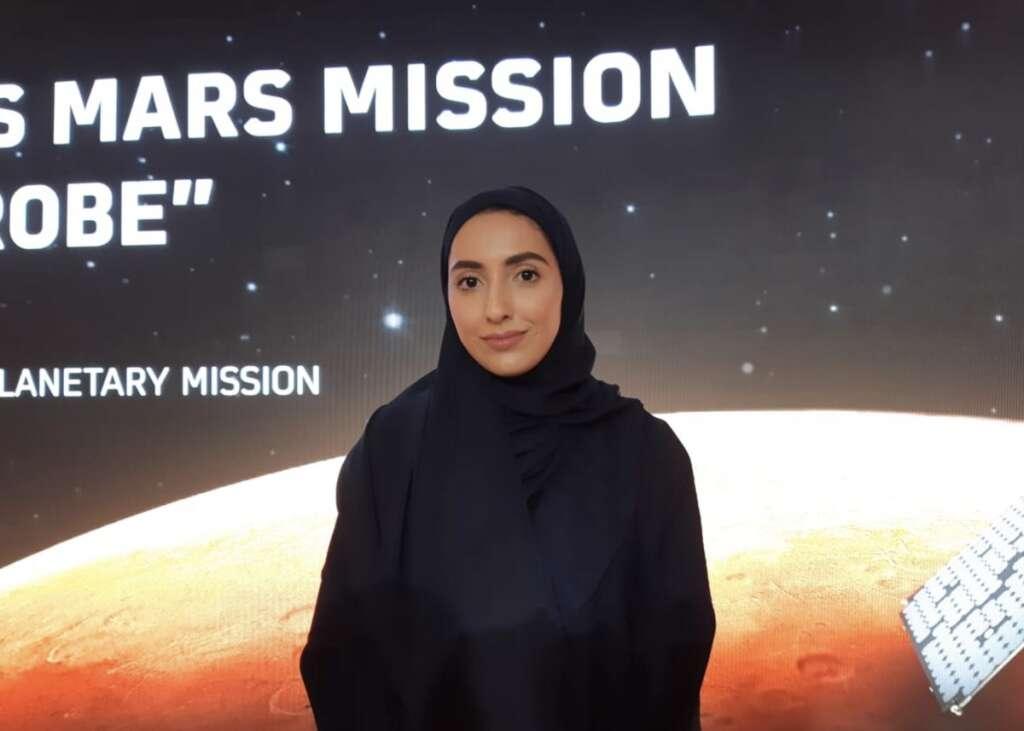 Fatma Lootah,Space scientist, UAE mars mission