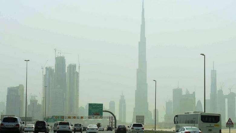 UAE weather, hot, dusty, Dubai, Abu Dhabi, National Center of Meteorology
