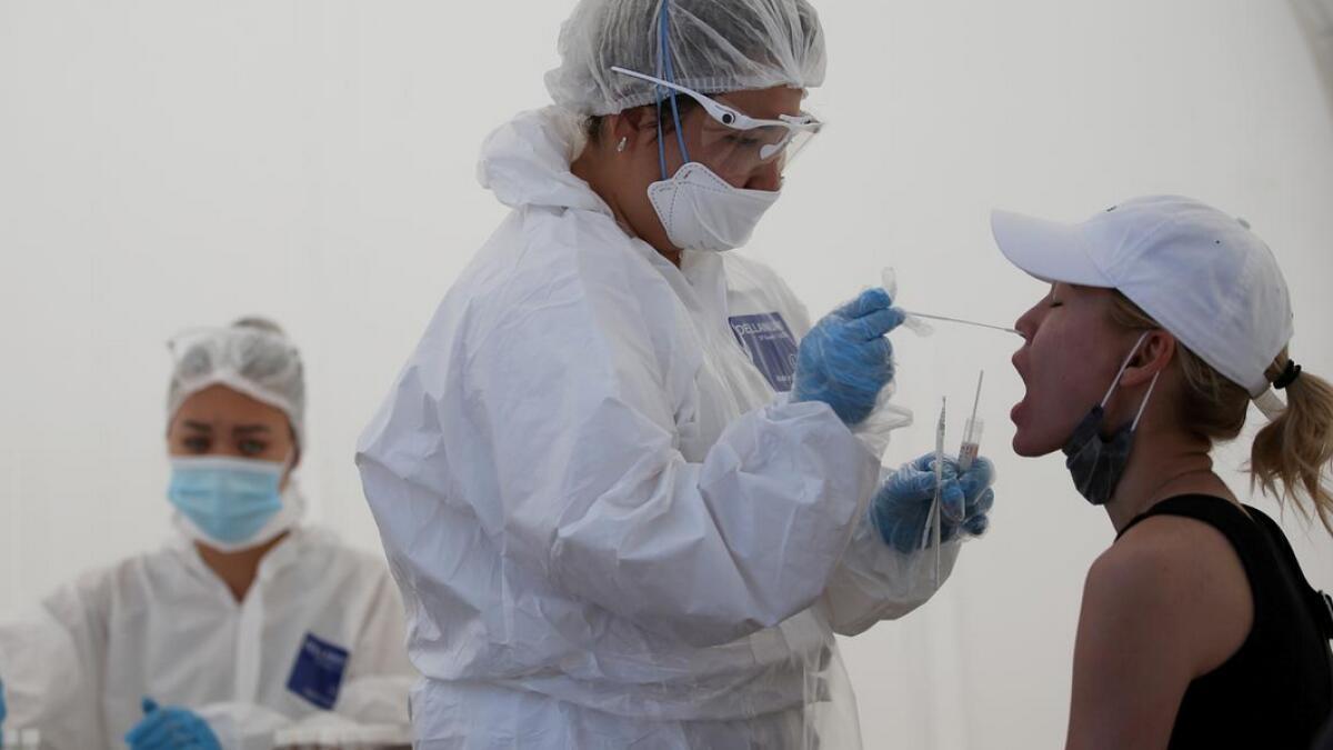 covid-19, coronavirus test, uae, ras al khaimah