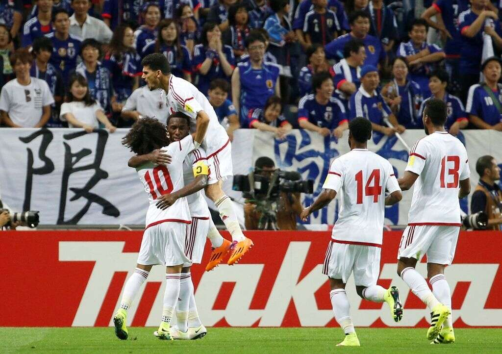 Shaikh Mohammed congratulates UAE football team on World Cup qualifiers win