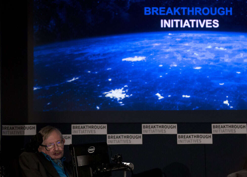 Stephen Hawking launches biggest-ever search for alien life