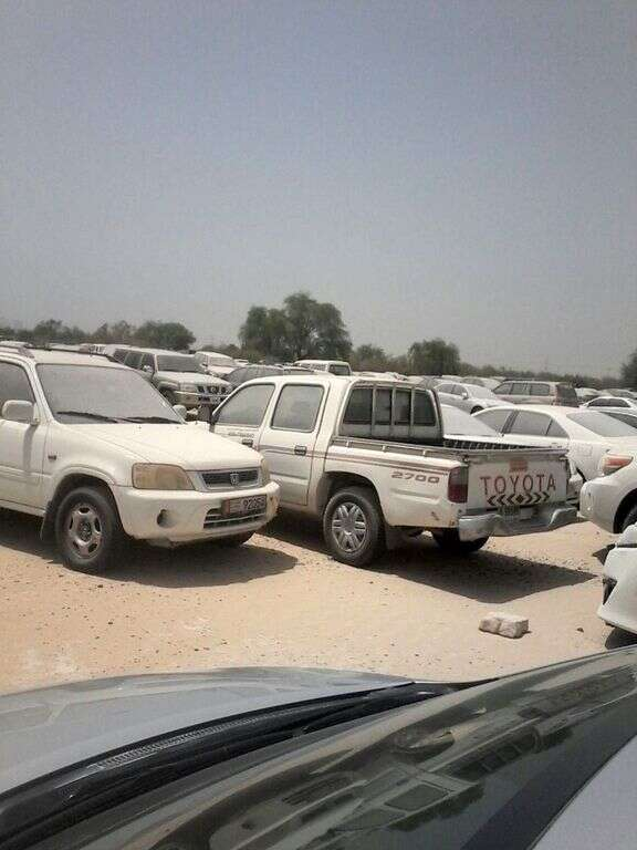 Impounded cars in Dubai to be auctioned in 3 months