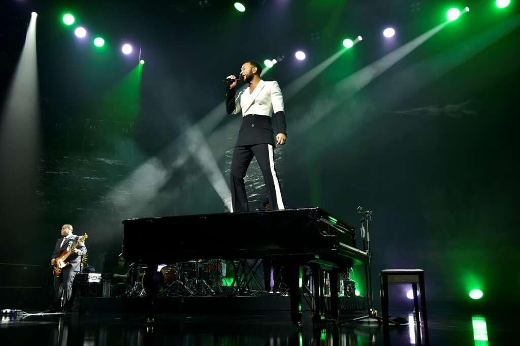 Legendary music, marks, closure, 25th edition, Dubai Shopping Festival, John Legend, Global Village,