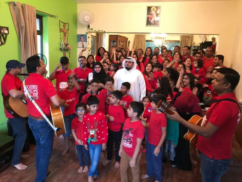 Dubai, group, sing, Xmas, carols, help, 4-year-old, rare genetic disease, Non-Hodgkin's Lymphoma