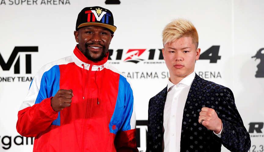 Mayweather to face Japan kickboxer Nasukawa