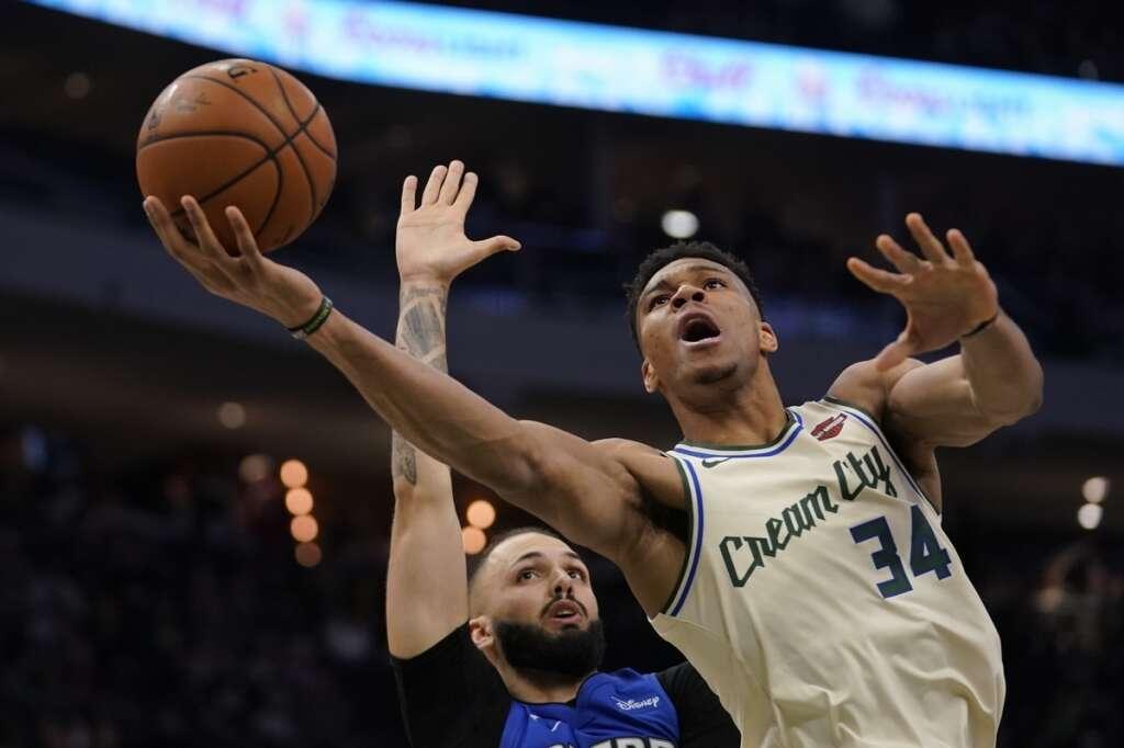 NBA: Antetokounmpo shines as Bucks beat Magic