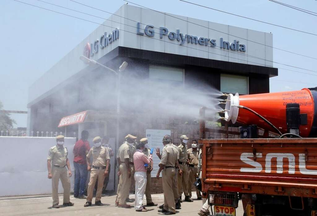 Investigation, gas leak, LG Polymers, southern India, finds, company, negligent, 12, killed