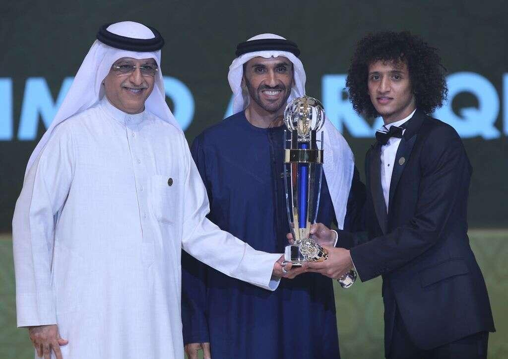 Asias best: Omar Abdulrahman
