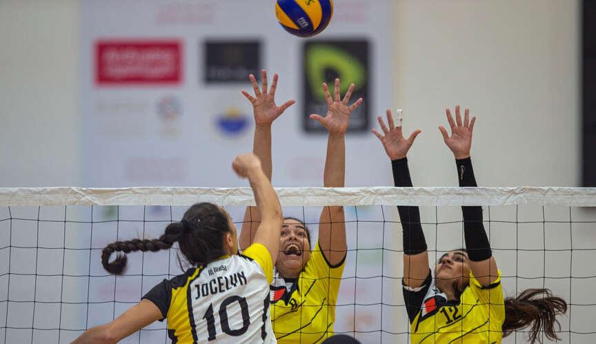 UAEs Al Wasl win volleyball thriller