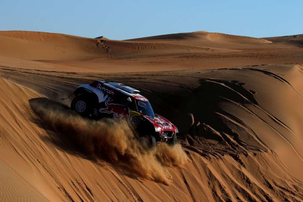 Sainz, Brabec poised to win Dakar Rally