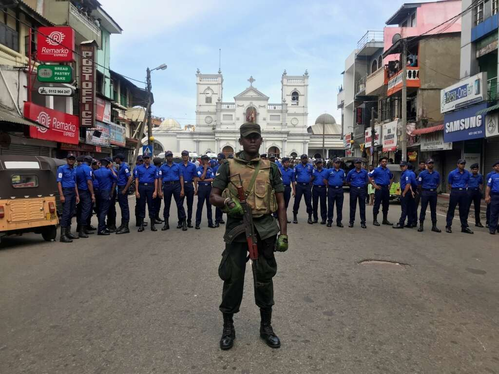 Sri Lanka attacks: 7 suspects arrested, over 200 dead