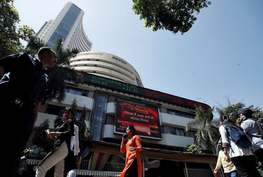 India's Sensex surges by 1,800 points, eyes 30,000 barrier