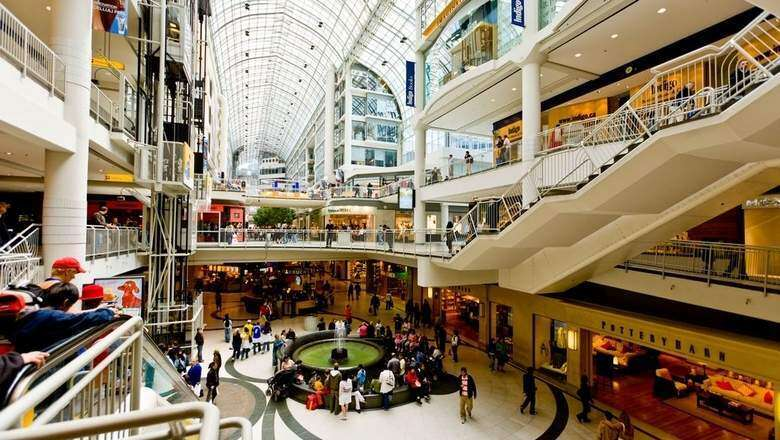 Build malls and the shoppers will come