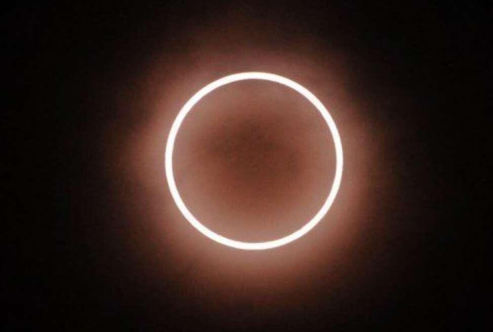 Rare solar eclipse, UAE today