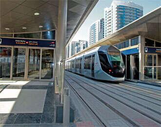Dubai Tram: A leisurely mode of transport