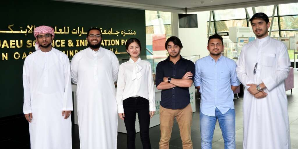UAE students develop smart eye for visually impaired