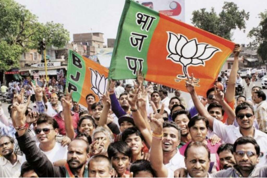 BJP crossed the 300 seat mark in the Lok Sabha elections - Khaleej Times