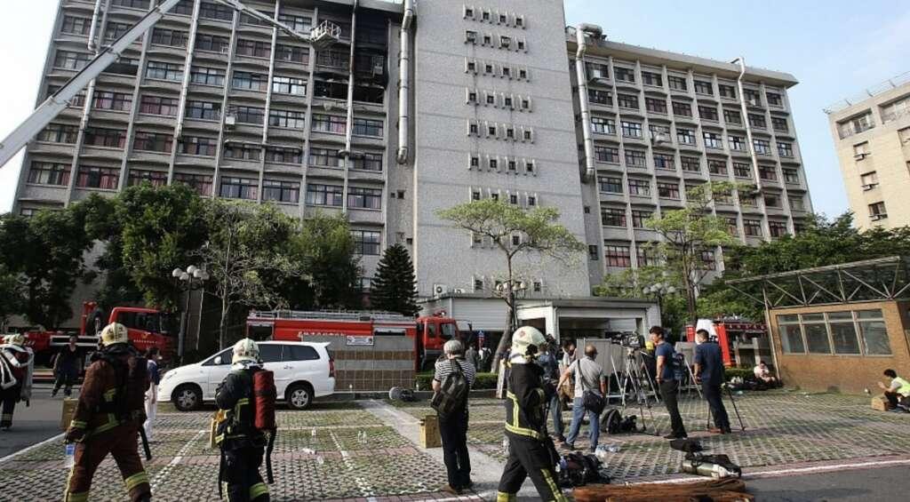 Nine killed, 15 injured in Taiwan hospice blaze
