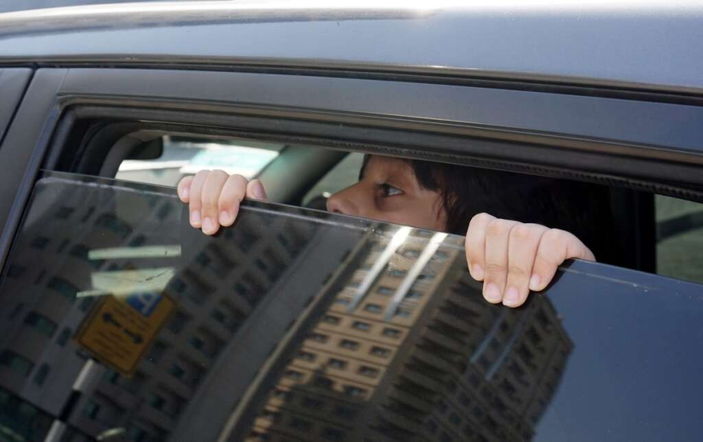 Locked cars are death trap for kids, warn UAE experts