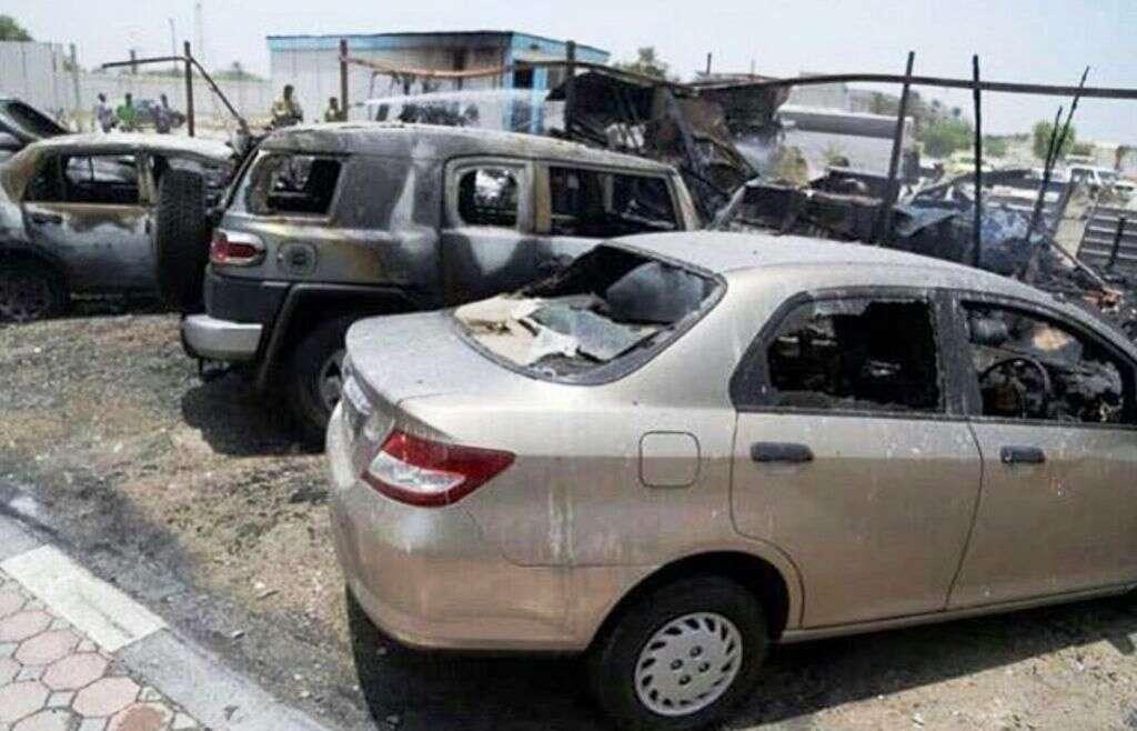 Cars, portacabin destroyed in Ras Al Khaimah fire