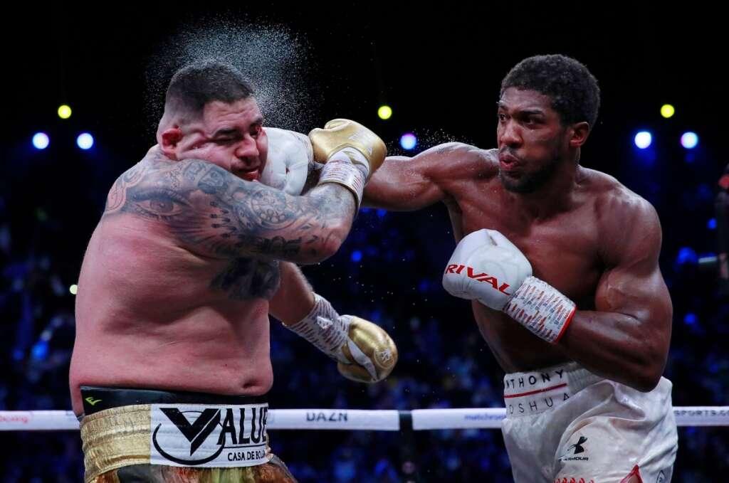 Joshua takes revenge on Ruiz in Saudi Arabia rematch