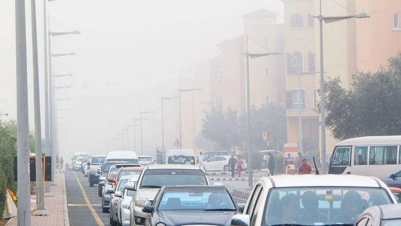 Low visibility, accidents slow down traffic in UAE