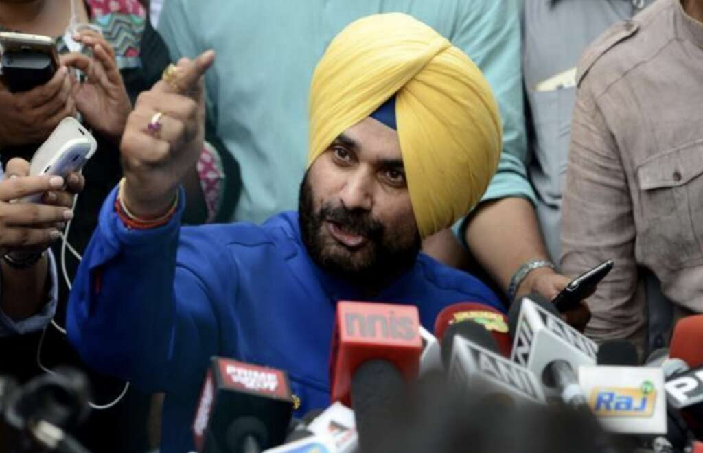 Navjot Singh Sidhu responds to criticism about his visit to Pakistan