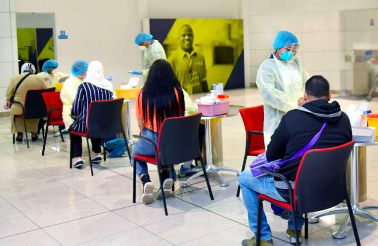 Emirates, covid-19, coronavirus, rapid testing, terminal three, dha, dubai, dxb