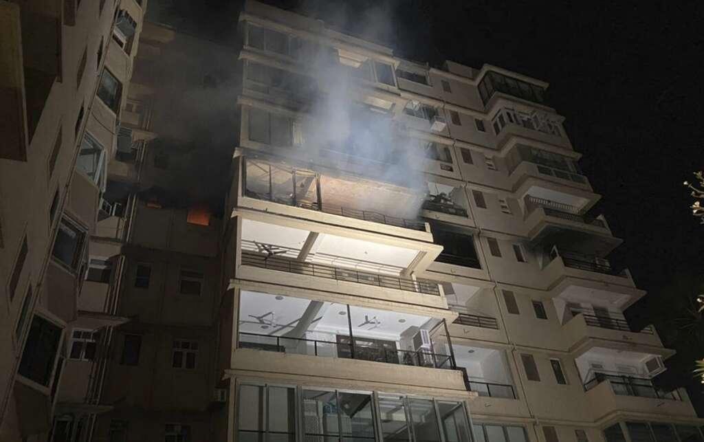 Mumbai, fire