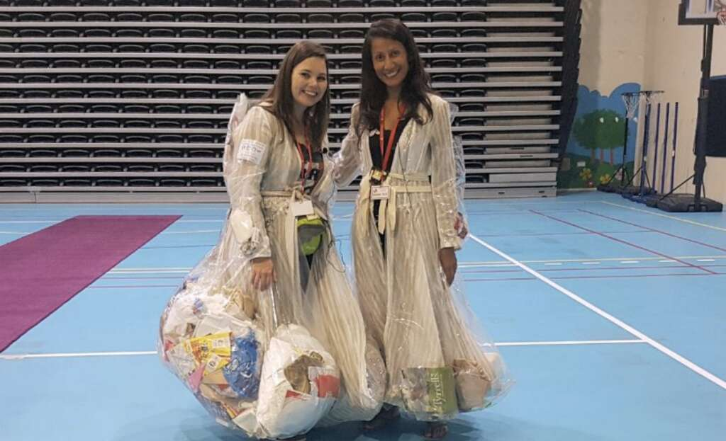 Two UAE-based ladies are wearing garbage for 30 days. Heres why