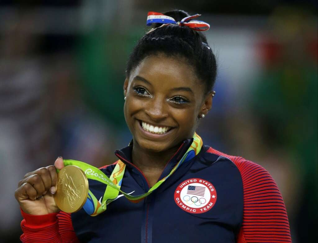 #MeToo, says US Olympic gymnastic superstar Biles