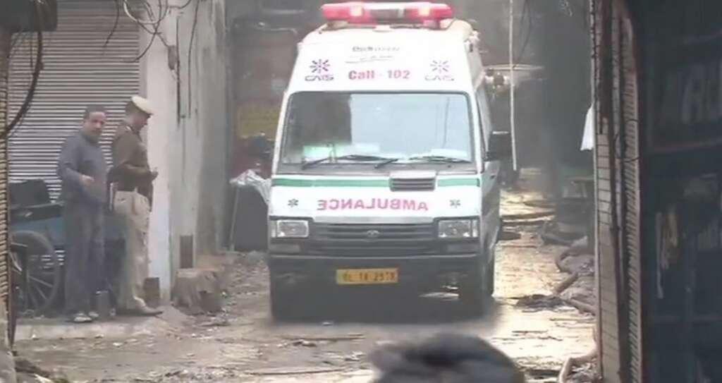 india, delhi, fire, anaj mandi, factory, 34 dead, market, rani jhansi