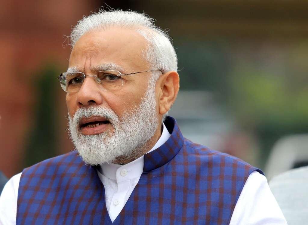 Indian prime minister, Narendra Modi, visit, foundation-laying, ceremony, Hindu, temple, despite, minister, Amit Shah, having, coronavirus, Covid-19