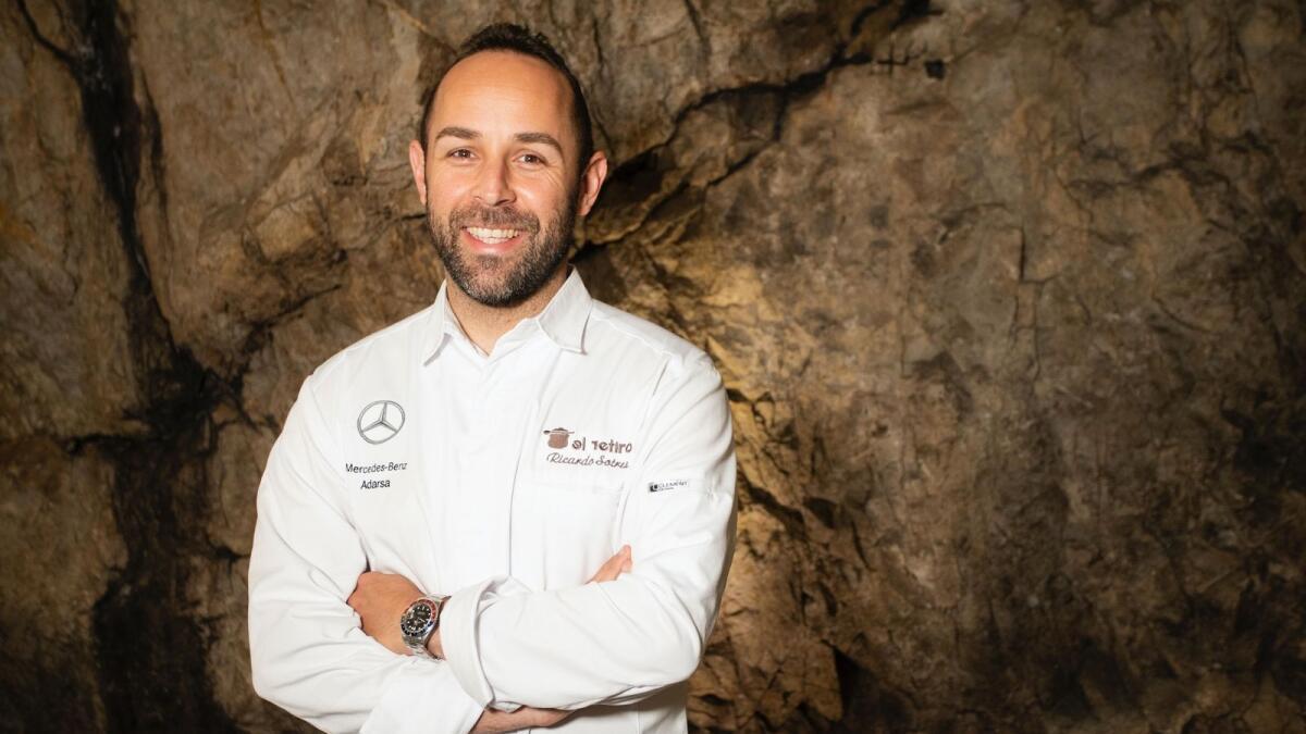 Michelin chef Ricardo Sotres mixes food and LaLiga football in Dubai