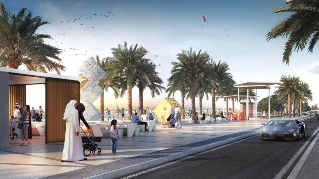 Sharjah announces 3.3km world-class beach project