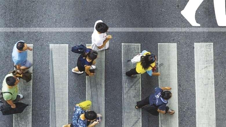 jaywalkers, fine, traffic law, Dubai, UAE law