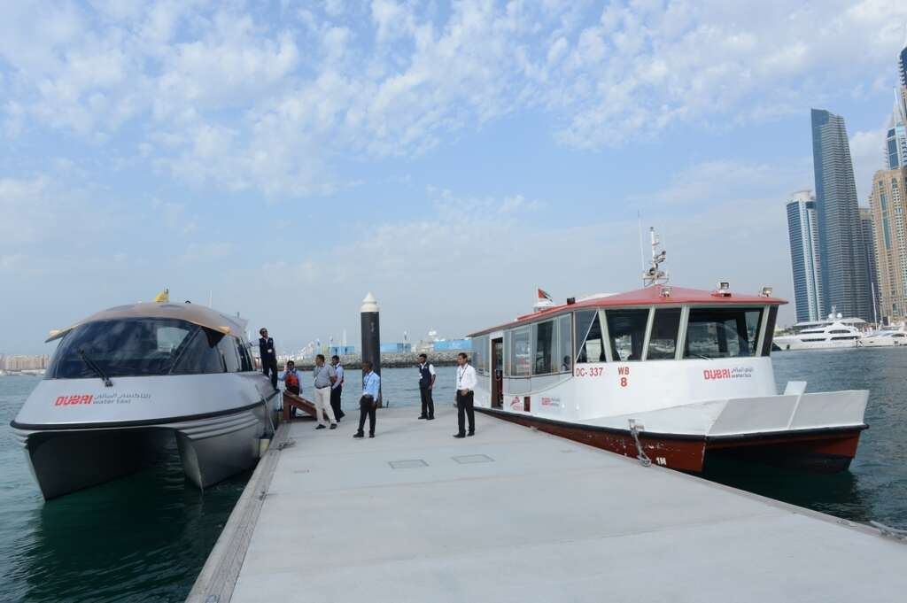 RTA exhibits air-conditioned abra in Dubai International Boat Show