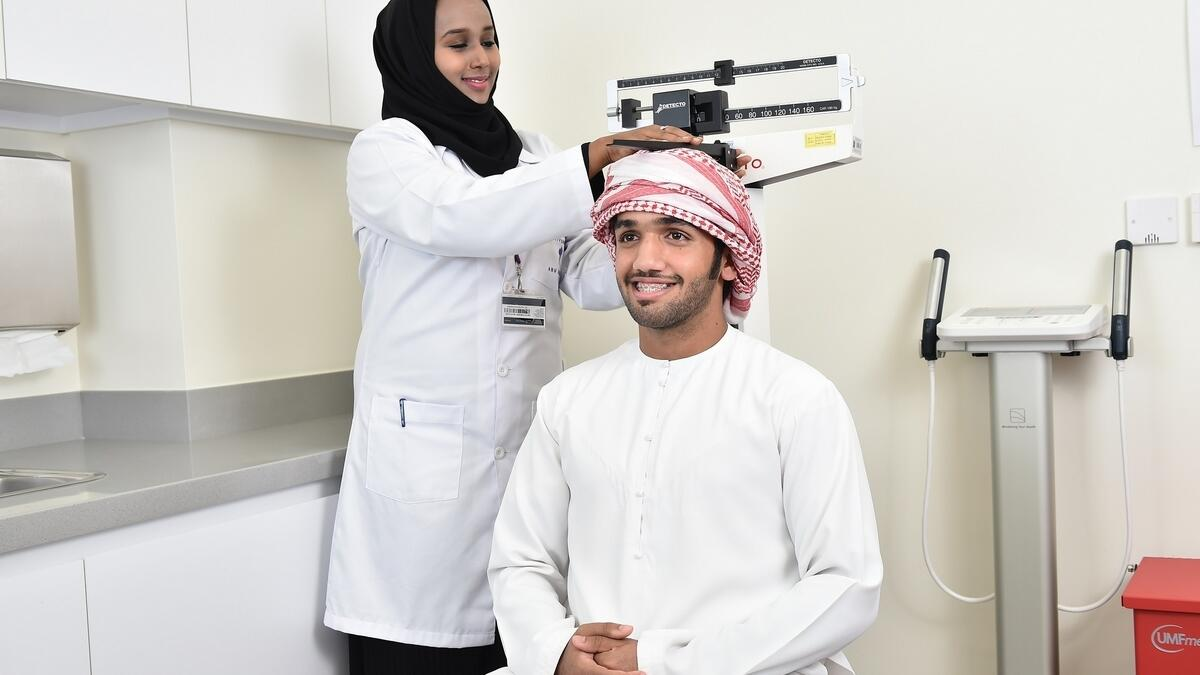 The UAE Healthy Future Study is being carried out by New York University—Abu Dhabi. — Supplied photo