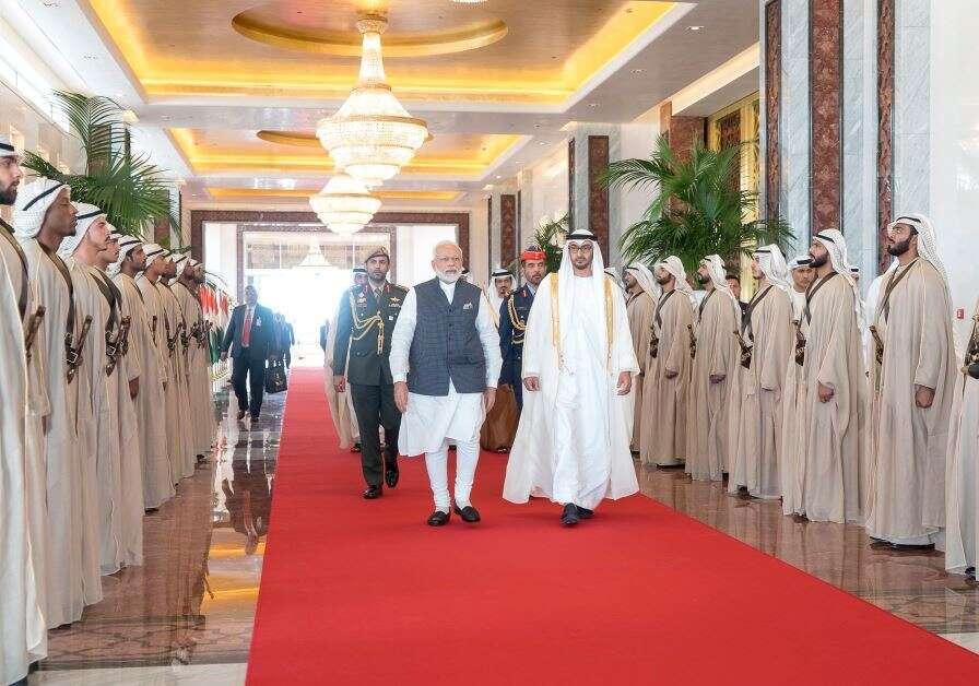 Abu Dhabi , UAE, Sheikh Mohamed, Dubai, India, Modi