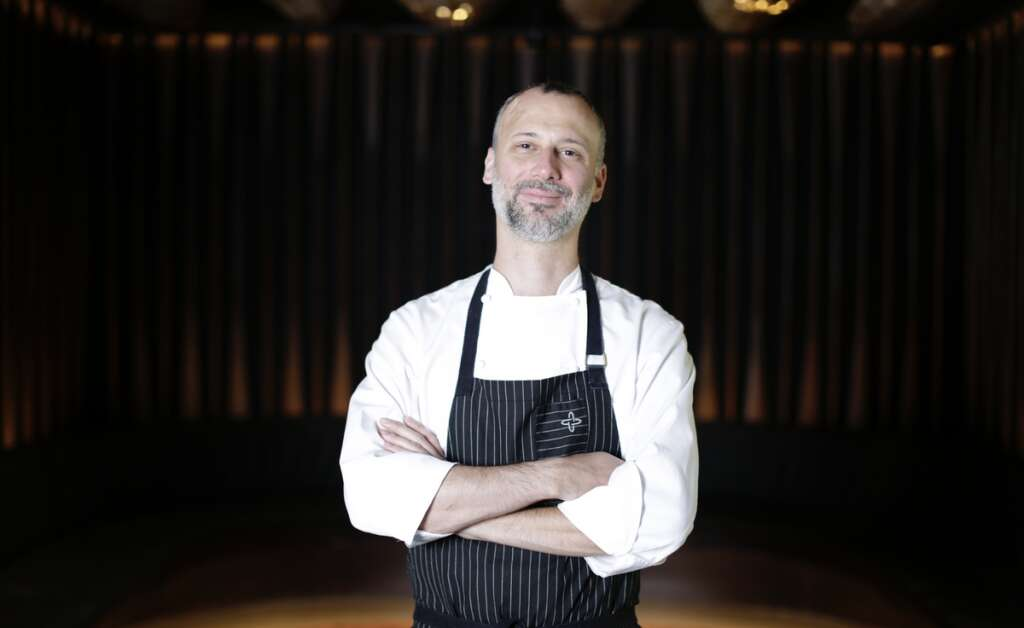 Contrary to popular beliefs, I do not cook a lot at work: Chris Jaeckle