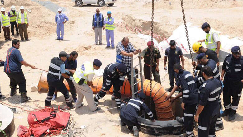 Worker rescued from construction site hole in UAE