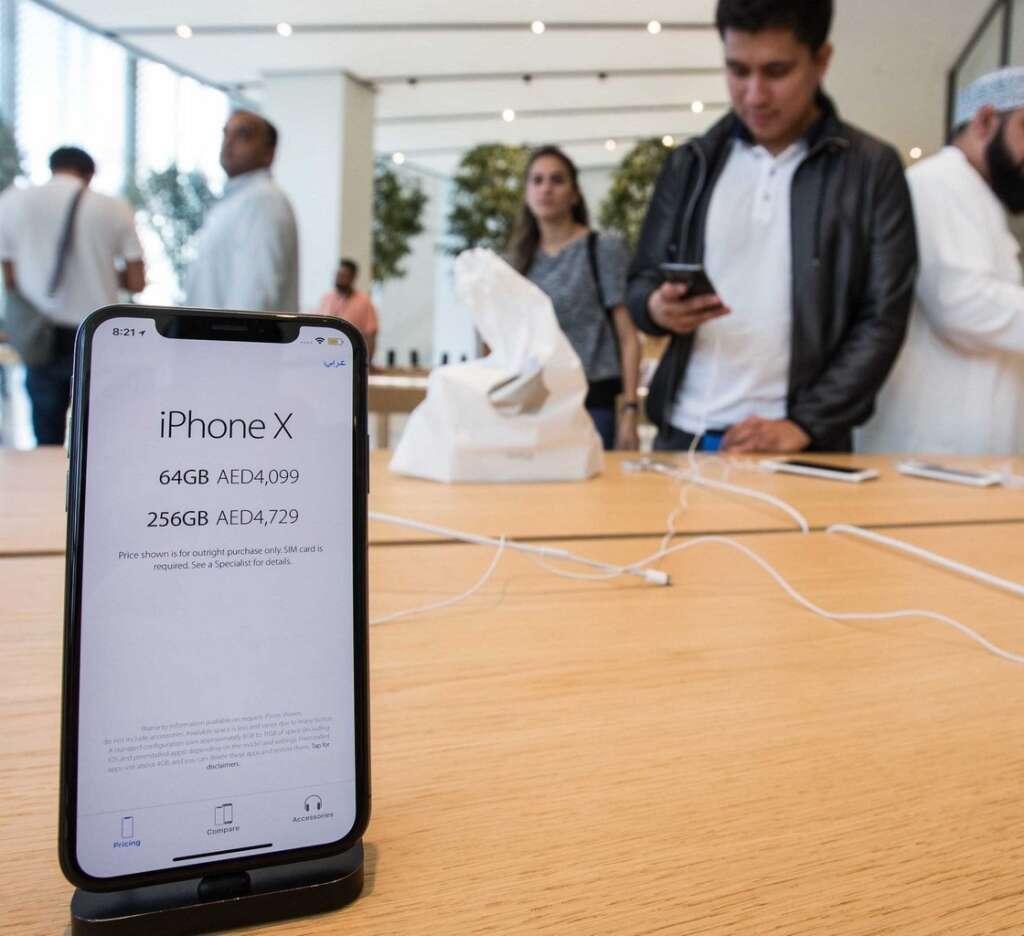 Iphone X In Dubai