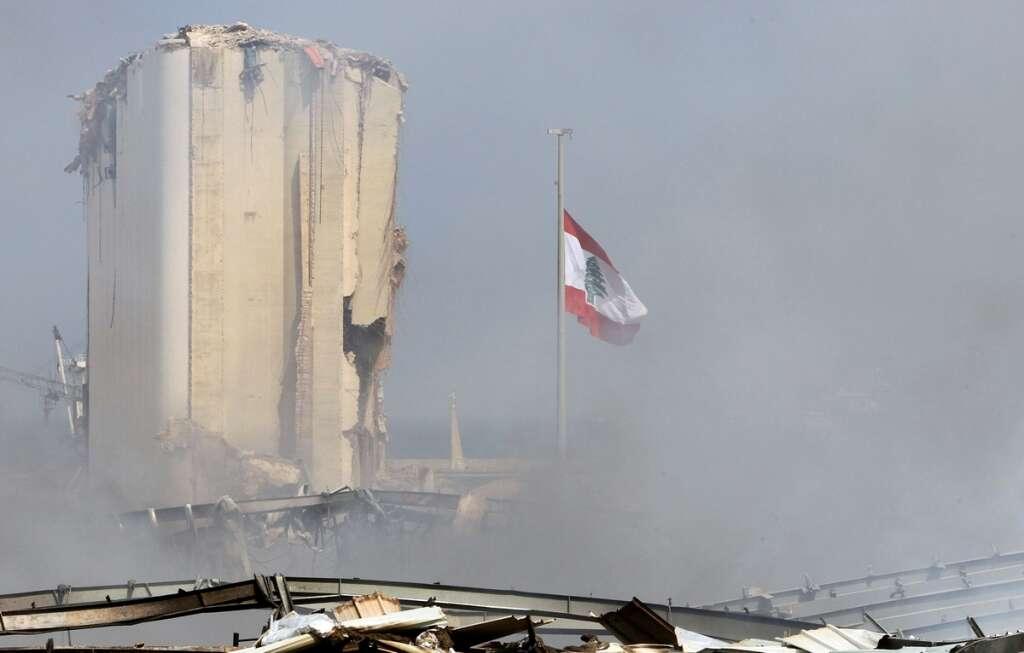 Beirut port, Lebanon, port, Lebanon fire