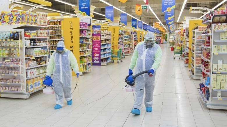Combating, Covid-19, How, stay safe, shop, groceries, UAE, coronavirus