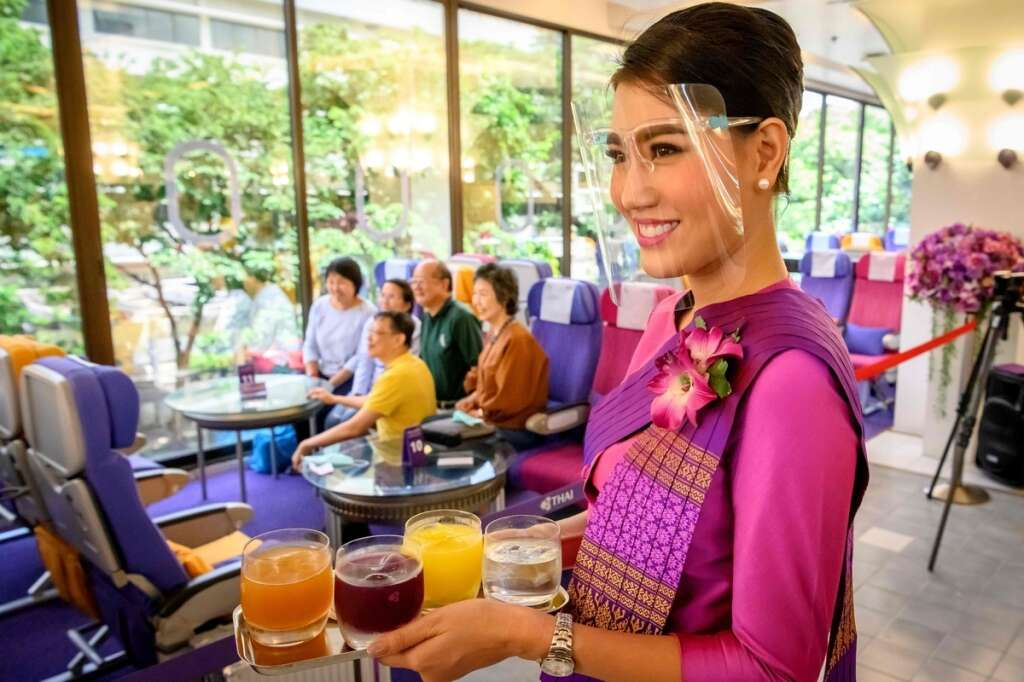 travel limited, plane cafes, Thailand