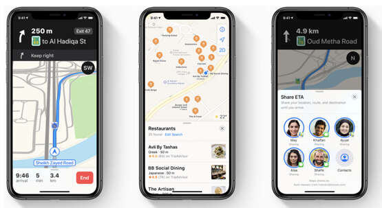Right turns: Apple rolls out Maps update in UAE - News | Khaleej Times