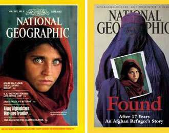 National Geographic 'Afghan girl' under probe in Pakistan