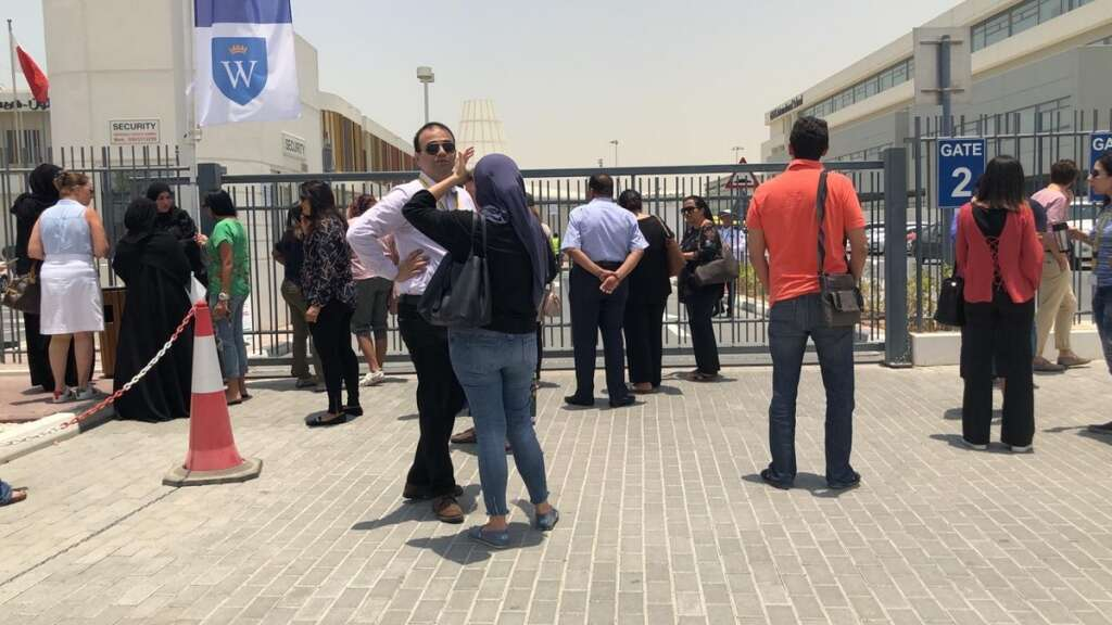 Woman leaves detergent in Dubai school, causes panic