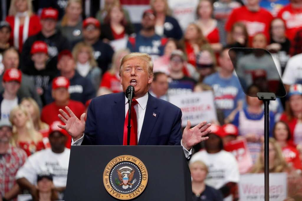 Donald Trump, supporters, waiver, promising, not to sue, catch, coronavorus, Covid-19, rallies, campaign, re-election, United States